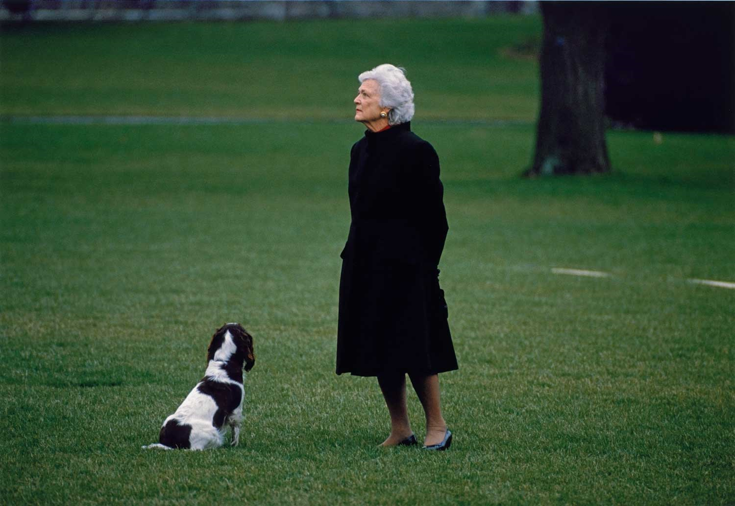 Preview image for Photograph of the Late Barbara Bush by Diana Walker  On View at the National Portrait Gallery press release