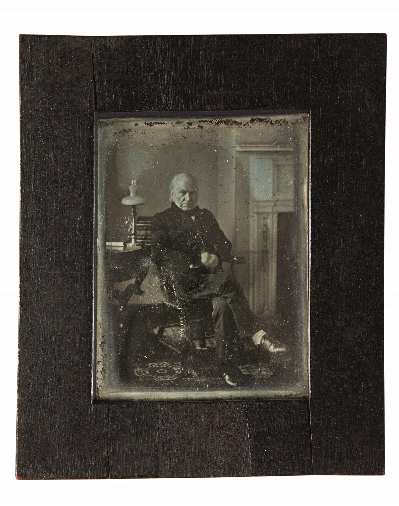 Preview image for National Portrait Gallery Acquires Earliest Known Photograph of a U.S. President press release