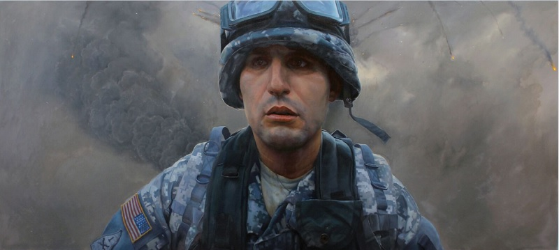 "Preview image for ""The Face of Battle: Americans at War, 9/11 to Now"" Opens April 7 press release"