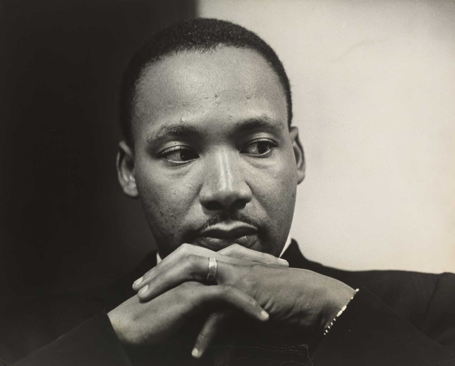 Preview image for National Portrait Gallery Remembers Martin Luther King Jr.  With Jack Lewis Hiller Photograph  press release