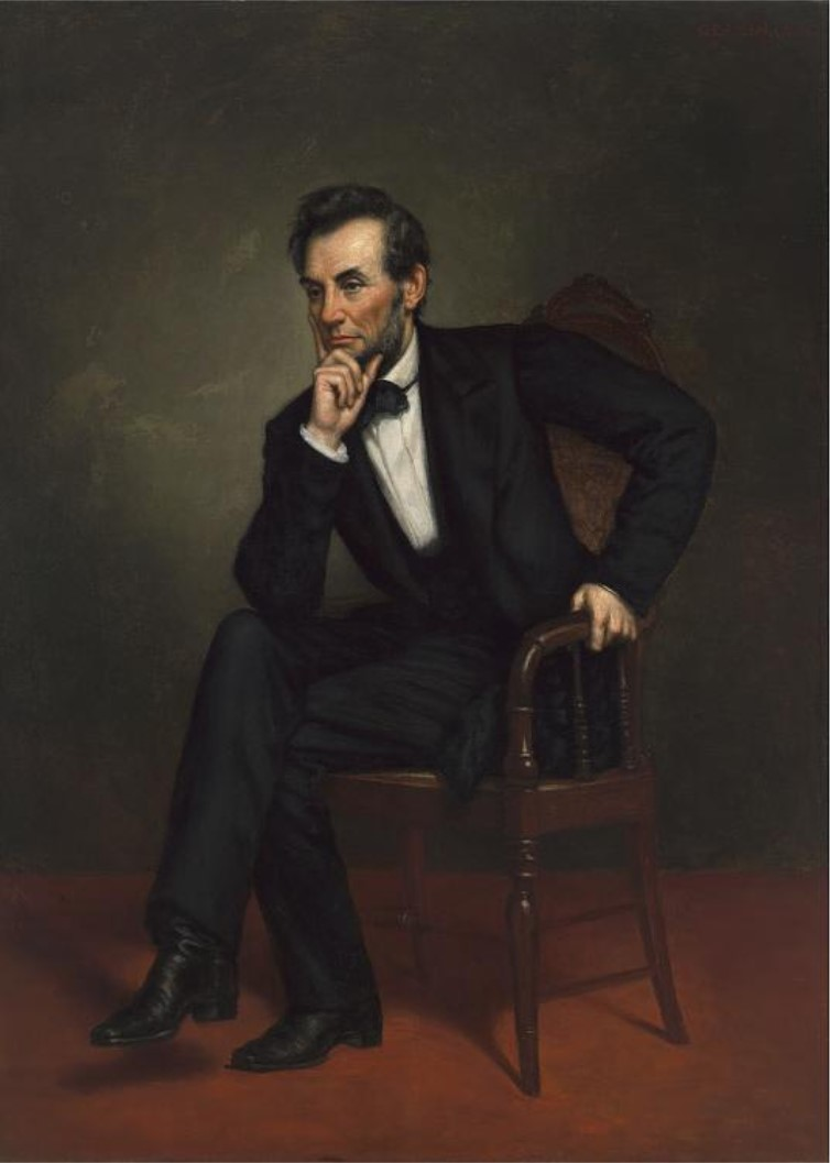 Abraham Lincoln portrait, 1887
