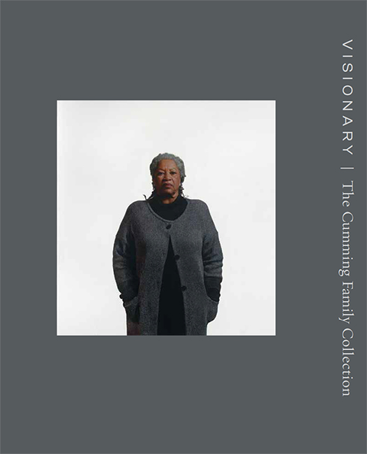 gray cover of a publication with an image of a woman in a gray sweater on the cover