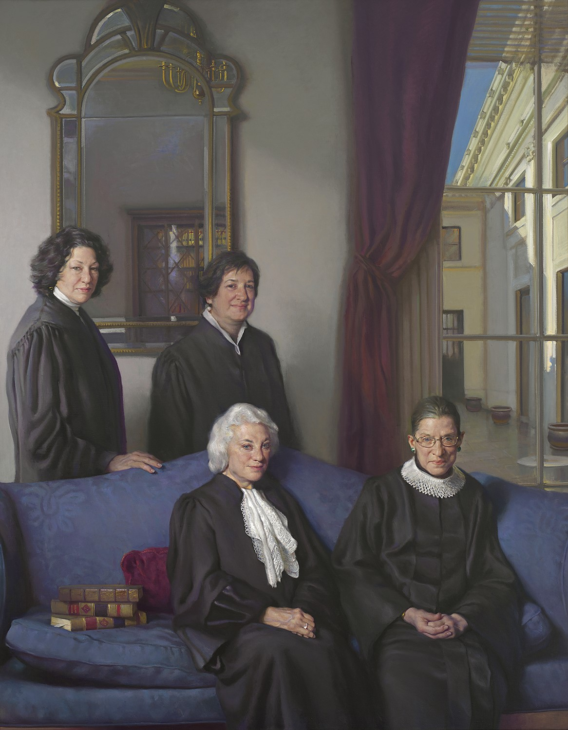 Four women Justices standing in a group