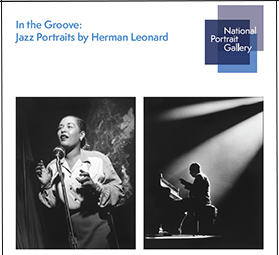 Prospectus cover with Herman Leonard portraits of jazz icons