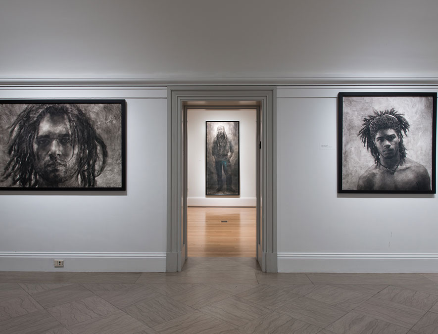 View of Portraiture Now: Drawing on the Edge