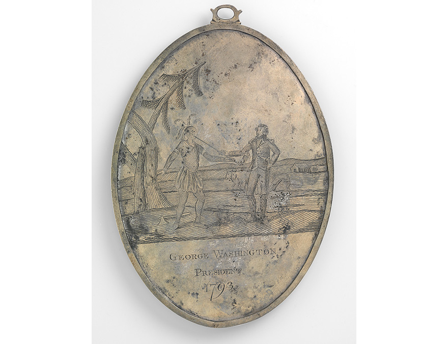 Large Peace Medal of George Washington