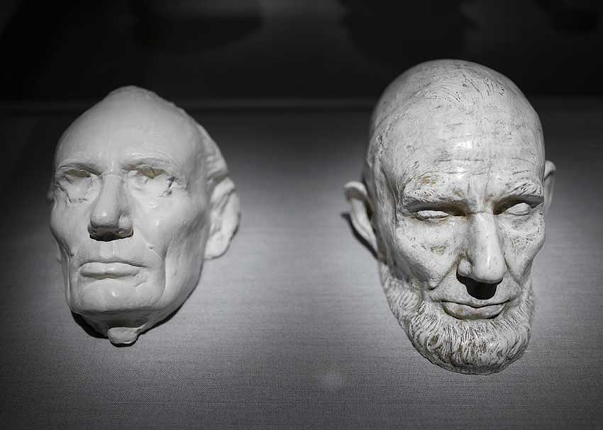 The lifemasks of LIncoln