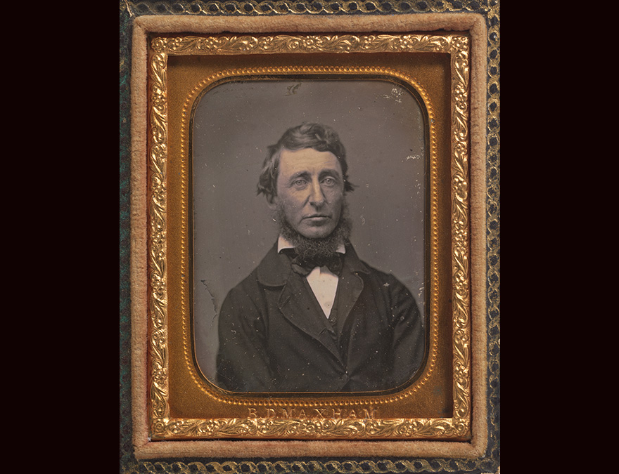 daguerreotype of a man in a dark suit and tie