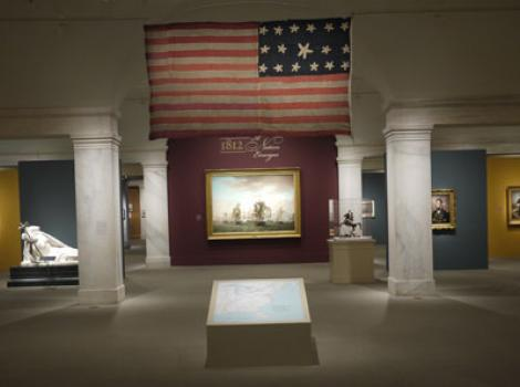"View of ""1812: A Nation Emerges"" exhibition"