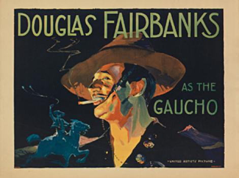 Douglas Fairbanks as the Gaucho, poster