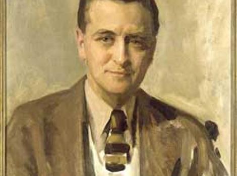 Portrait of F. Scott Fitzgerald