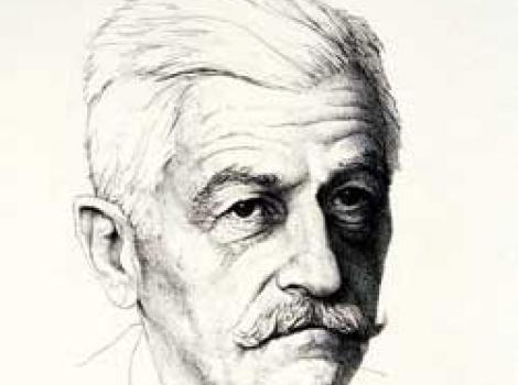 Portrait of William Faulkner
