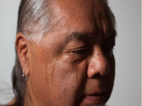 Photograph portrait of James Luna