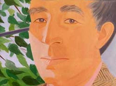 Portrait of John Updike