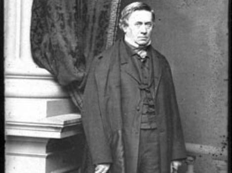 Photograph portrait of Joseph Henry