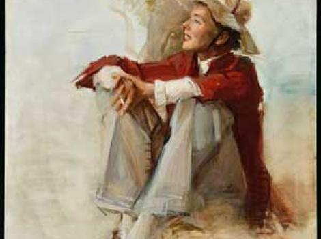 Portrait of Katherine Hepburn