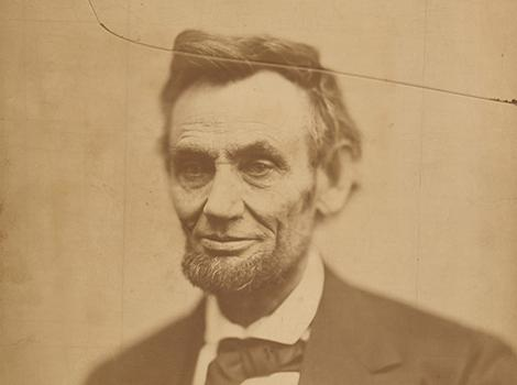 Photograph of LIncoln by Alexander Gardner