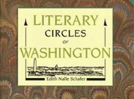 """Cover of """"The LIterary Circles of Washington"""" book"""