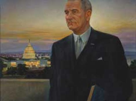 Portrait of Lyndon Johnson
