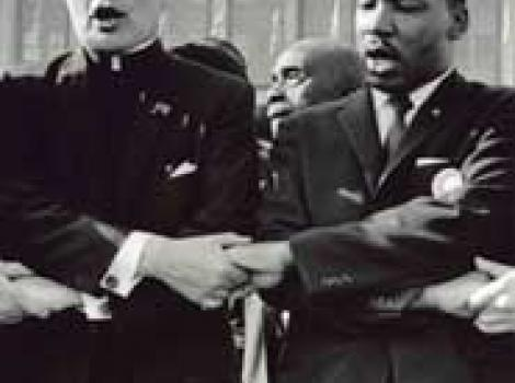 Rev. Theodore M. Hesburgh and Dr  Martin Luther King, Jr.