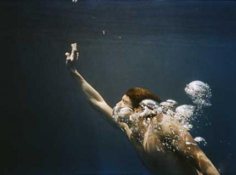 Portrait of Michael Phelps