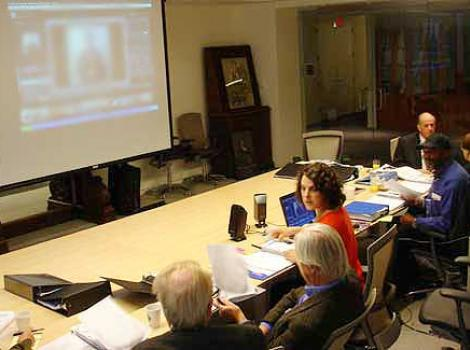 Jury meeting for the Portrait Competition