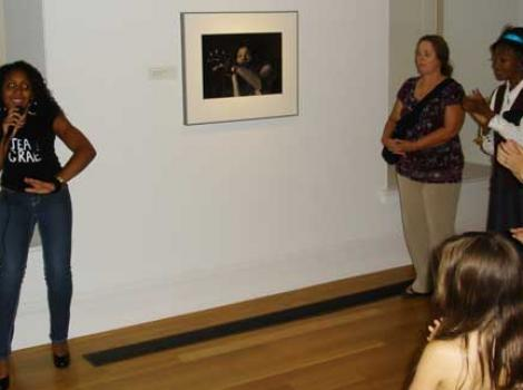 """Portraits Alive"" performance as Jean Grae"