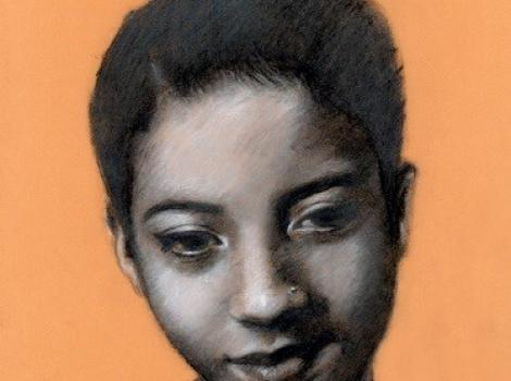 Deep Thought by Tiffany Vargas, Winner of the Teen Portrait Competition, 2015