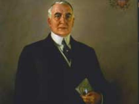 Portrait of Warren Harding