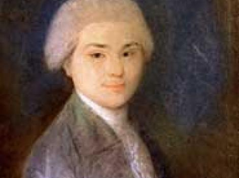 Painting of a young John Quincy Adams