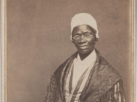Portrait of an African American Woman--Sojourner Truth
