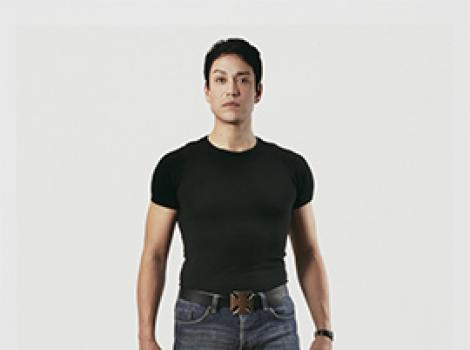 Full length portrait of a young Asian man