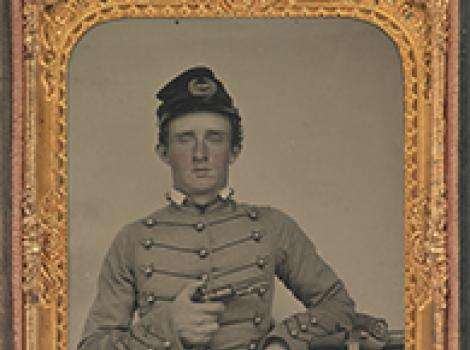 Ambrotype of George Armstrong Custer