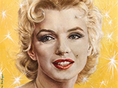Marilyn Monroe aby Boris Chaliapin