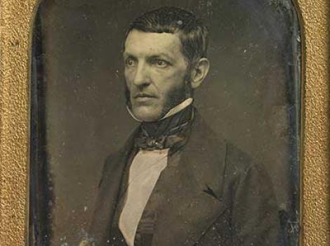 Daguerreotype of George Bancroft