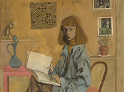 Elaine de Kooning Self-Portrait