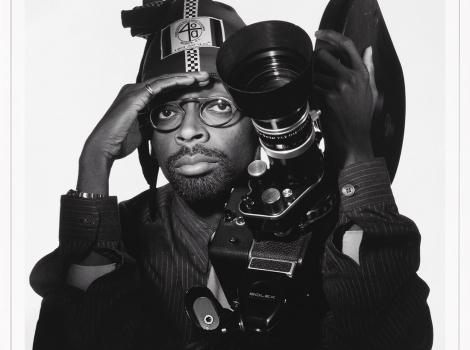 Photograph of Spike Lee