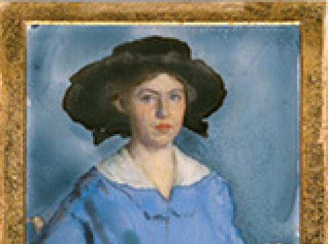 Lucy May Stanton (self-portrait)