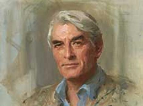 Gregory Peck by Everett Kinstler
