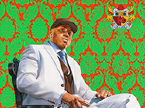 LL Cool J by Kehinde Wiley