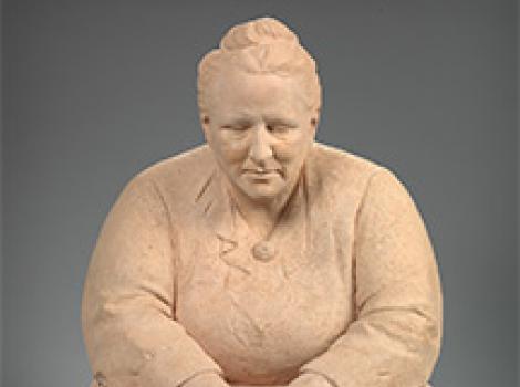 Gertrude Stein  Jo Davidson (1883–1952)   Terra-cotta, 1922–23