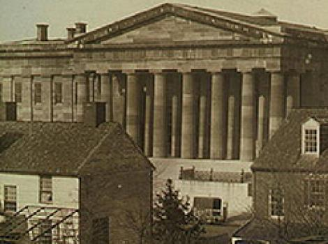 Detail image of the Patent Office Building