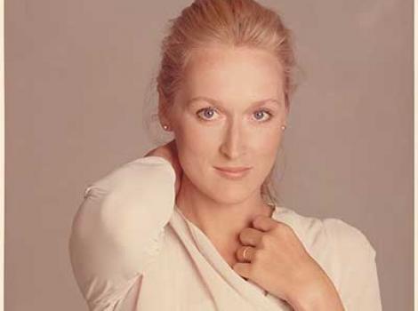 Portrait of Meryl Streep