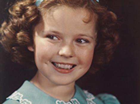 Photograph of Shirley Temple