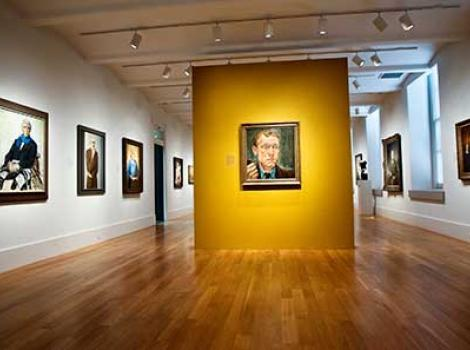 View of Twentieth Century Americans gallery