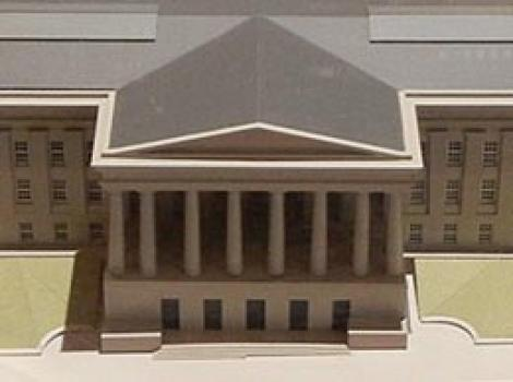 Model of the POB see from above