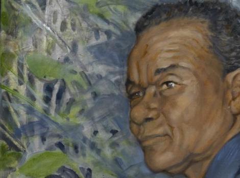 portrait of David Driskell