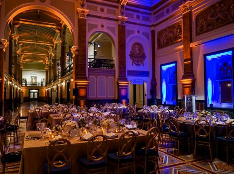 Great Hall during a corporate event
