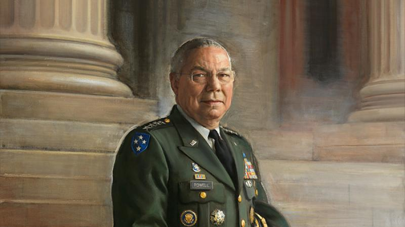 full length portrait of a general in uniform