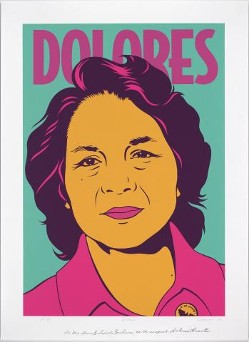 Poster of Dolores Huerta